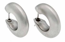 Platin-Creolen PT 950/000 D. 20 mm, 6,6 g