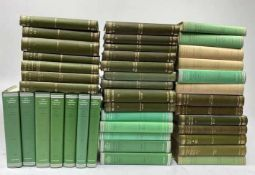 LOEB CLASSICAL LIBRARY. Greek authors. 41 vols. of the series. Ocl. (19) w. dust-j. I.a.: ATHENAEUS.