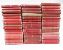 LOEB CLASSICAL LIBRARY. Latin authors. Lond., (1927-2000-). 46 vols. of the series. Ocl. (26) w.