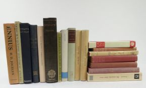 ENNIUS. Tragedies. The fragments ed. w. introd. & comm. by H.D. Jocelyn. 1969. Ocl. w. dust-j. (