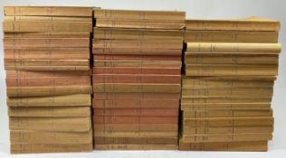 COLLECTION BUDÉ. Série latine (34) (&) grecque (16). Par., 1935-82. Tog. 50 vols. of the series.