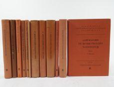 ALBUMASARIS. De revolutionibus nativitatum. Ed. D. Pingree. 1968. -- ARTEMIDORUS. Onirocriticon