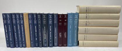 AUGUSTINUS. Œuvres. Tom. 1-12, 15-16, 48, 49 = 1e sér.: Opuscules. 12 vols.; 2e sér.: Dieu et son œ
