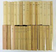 COLLECTION BUDÉ. Série grecque (31), latine (4) & byzantine (1). Par., 1920-2001. Tog. 36 vols. of