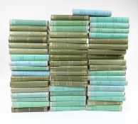 LOEB CLASSICAL LIBRARY. Greek authors. Lond., (1928-2003). 54 vols. of the series (incl. 1