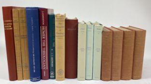 HOMERUS. The Iliad. Ed., w. appar. crit., proleg., notes, & append. by W. Leaf. 1956-59. 2 vols. -