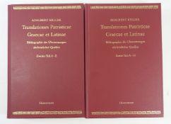 KELLER, A. Translationes patristicae Graecae et Latinae. Bibliographie der Übersetzungen