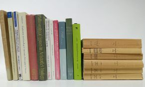 ARISTOTELES. Histoire des animaux. 1964-69. 3 vols. - Id. De la génération des animaux. 1961. - Id.