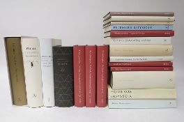 COLLECTION of (neo-)classical works in Dutch translation. (1989-2011). 20 vols. Or. binds. (16; 15
