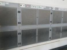 5 Airbench Vertex modular cross draught extractors
