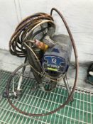 "Graco ST Max II airless paint sprayer, a Clarke SPE1200SS 1"" pump & an AS18 airbrush compressor"