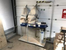 Charnwood W792 double bag dust extractor in need of repair