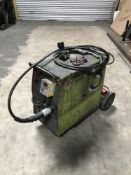 Lincoln welding set with regulator, torch, hose and trolley