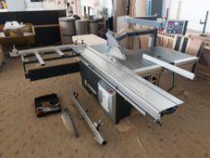 2018 Altendorf WA8 sliding table saw
