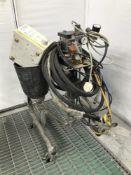 Wagner paint spray cart
