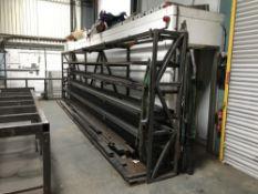 4 steel racks