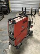 Kempi MasterTig AC/DC 2500W tig welding set with regulator, torch, hose and trolley