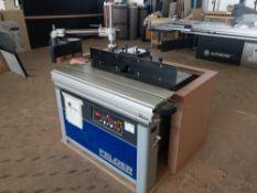 2019 Felder F 900Z tilting spindle moulder