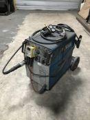Miller Compactblu 243 welding set with regulator, torch, hose and trolley