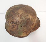 WW2 German M42 Normandy Cam Helmet. No liner.
