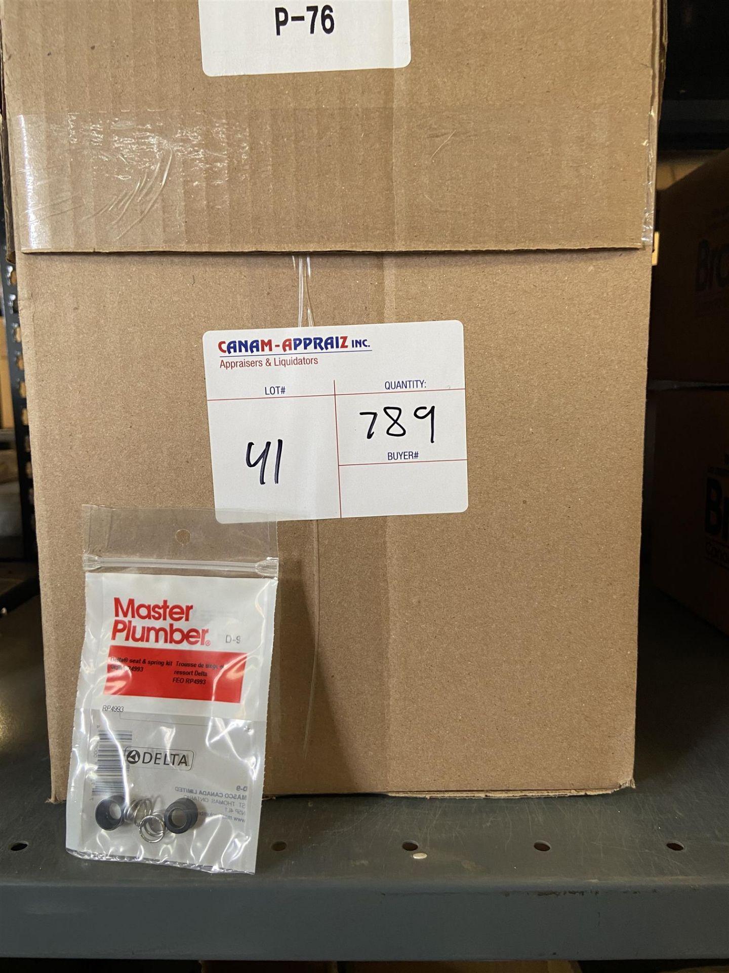MASTER PLUMBER - DELTA SEAT & SPRING KIT D-9 - 789PCS