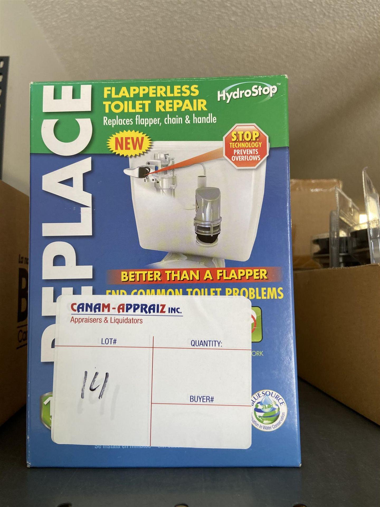 HYDROSTOP - FLAPPERLESS TOILET REPAIR KIT - 1PCS