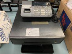 CASIO - CASH REGISTER W/ DRAWER - MODEL # PCR-T290L