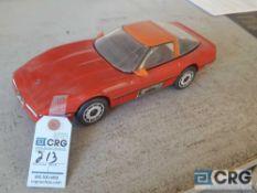Corvette Hard Top, Jim Beam decanter, full with originalseal
