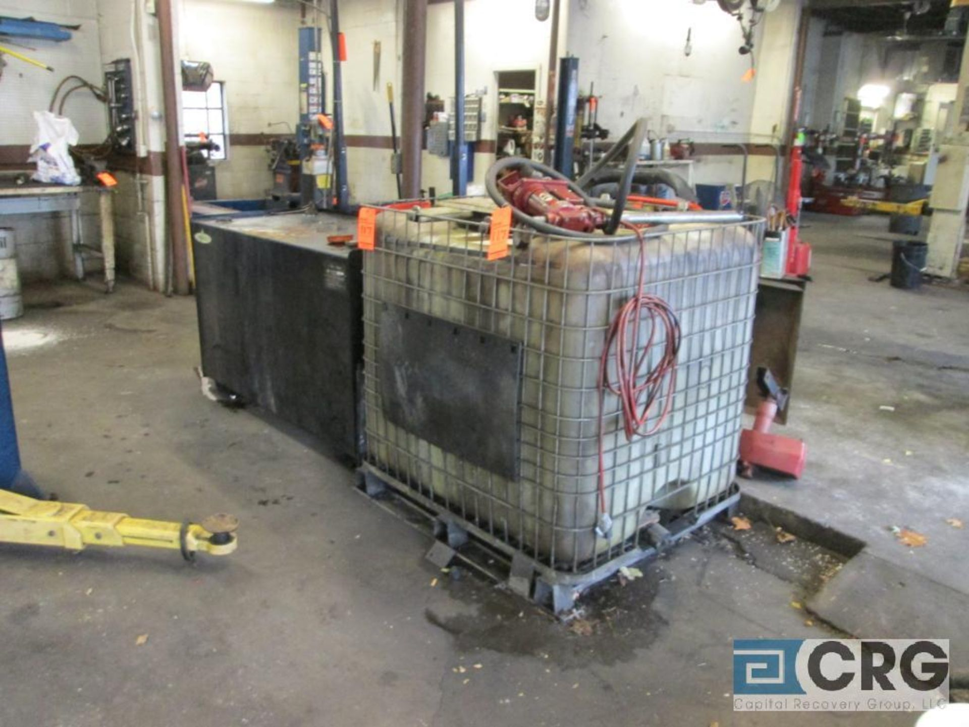 Energy Logic EL-200H waste oil furnace with Energylogic 250 gal. supply tank, s/n FT-007294, and 300 - Image 6 of 7
