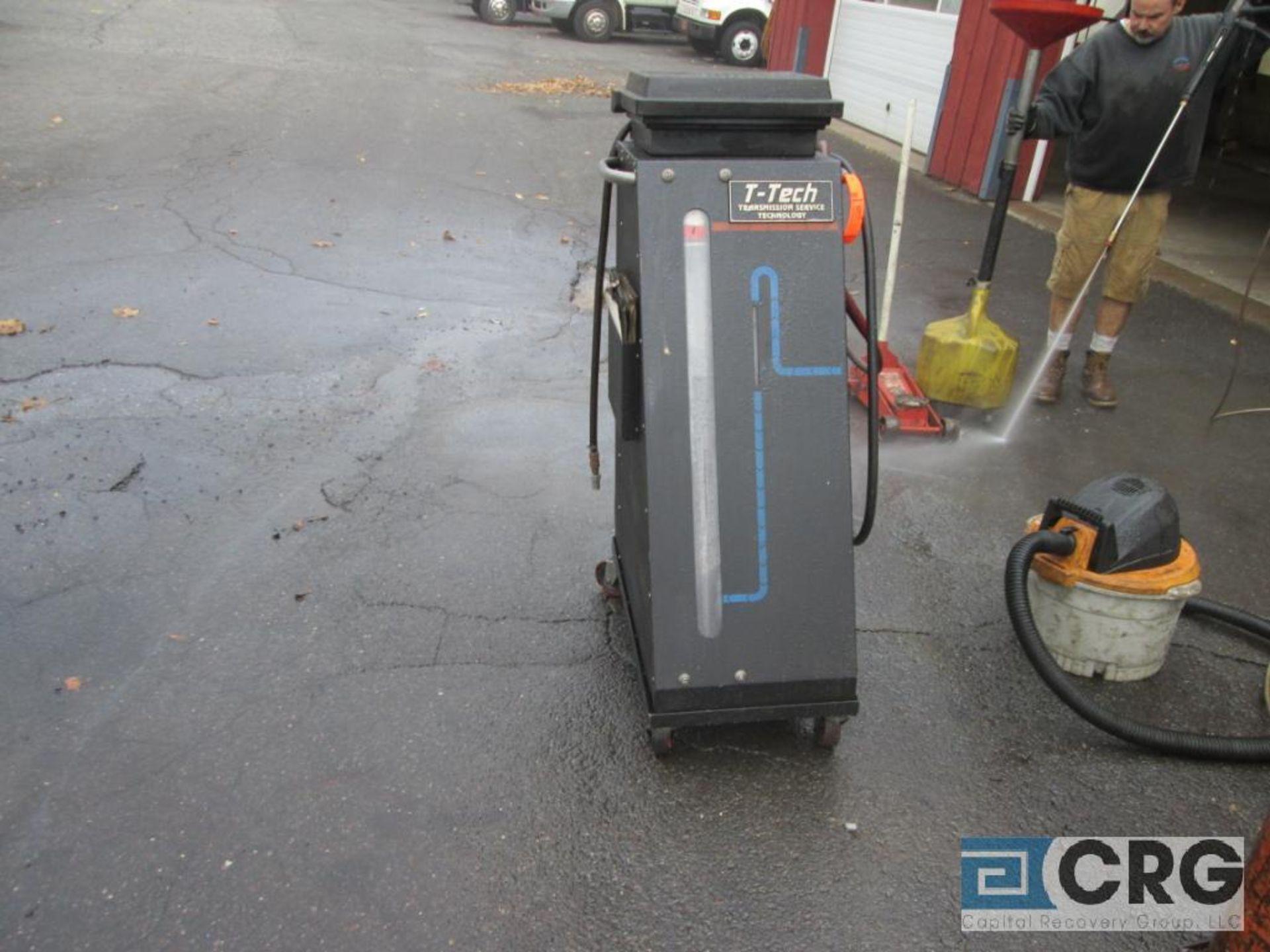T-Tech Transmission Service Technology transmission flushing machine, portable, 115V, 1 ph - Image 2 of 3