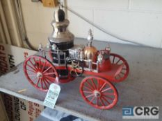 Antique Fire Truck, Jim Beam decanter, full with original seal
