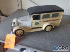 Antique Ambulance, Jim Beam decanter, full with original seal