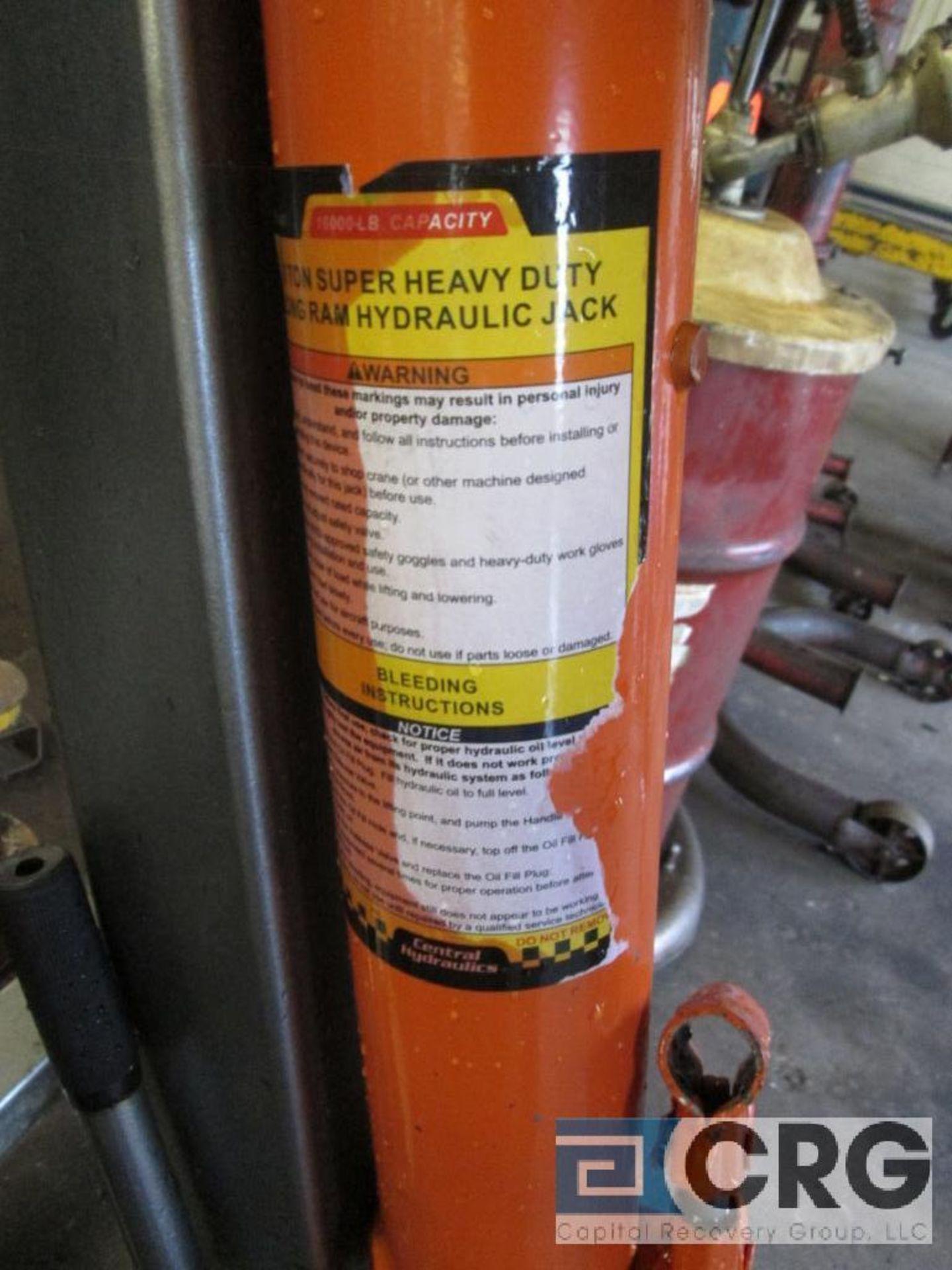 Pittsburg Automotive portable engine crane with 2 ton cap. Hydraulic jack - Image 4 of 4