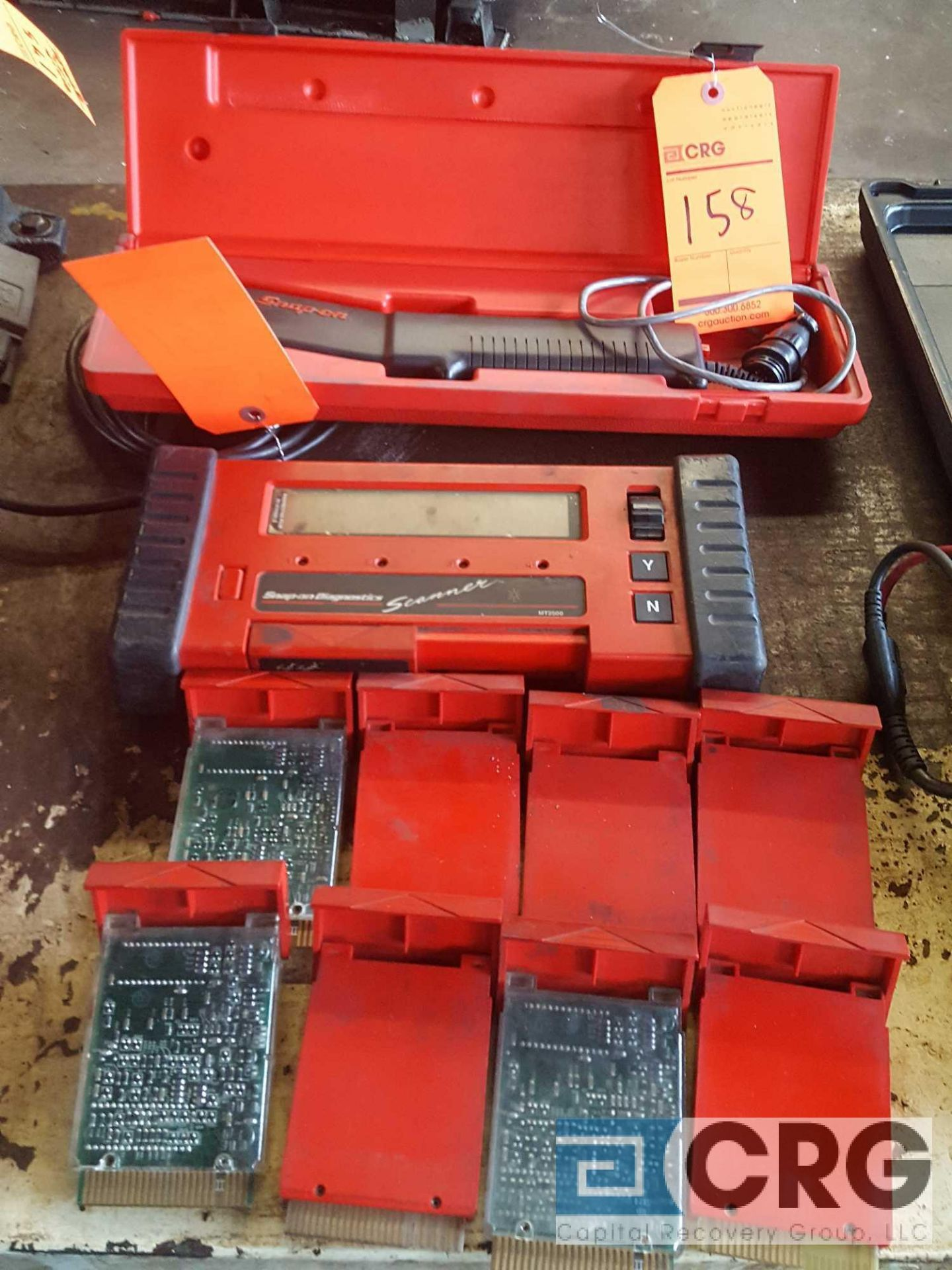 Lot of SNAP-ON DIAGNOSTIC DEVICES including (1)MT 2500 scanner and (1) MT 3000-420 power balance