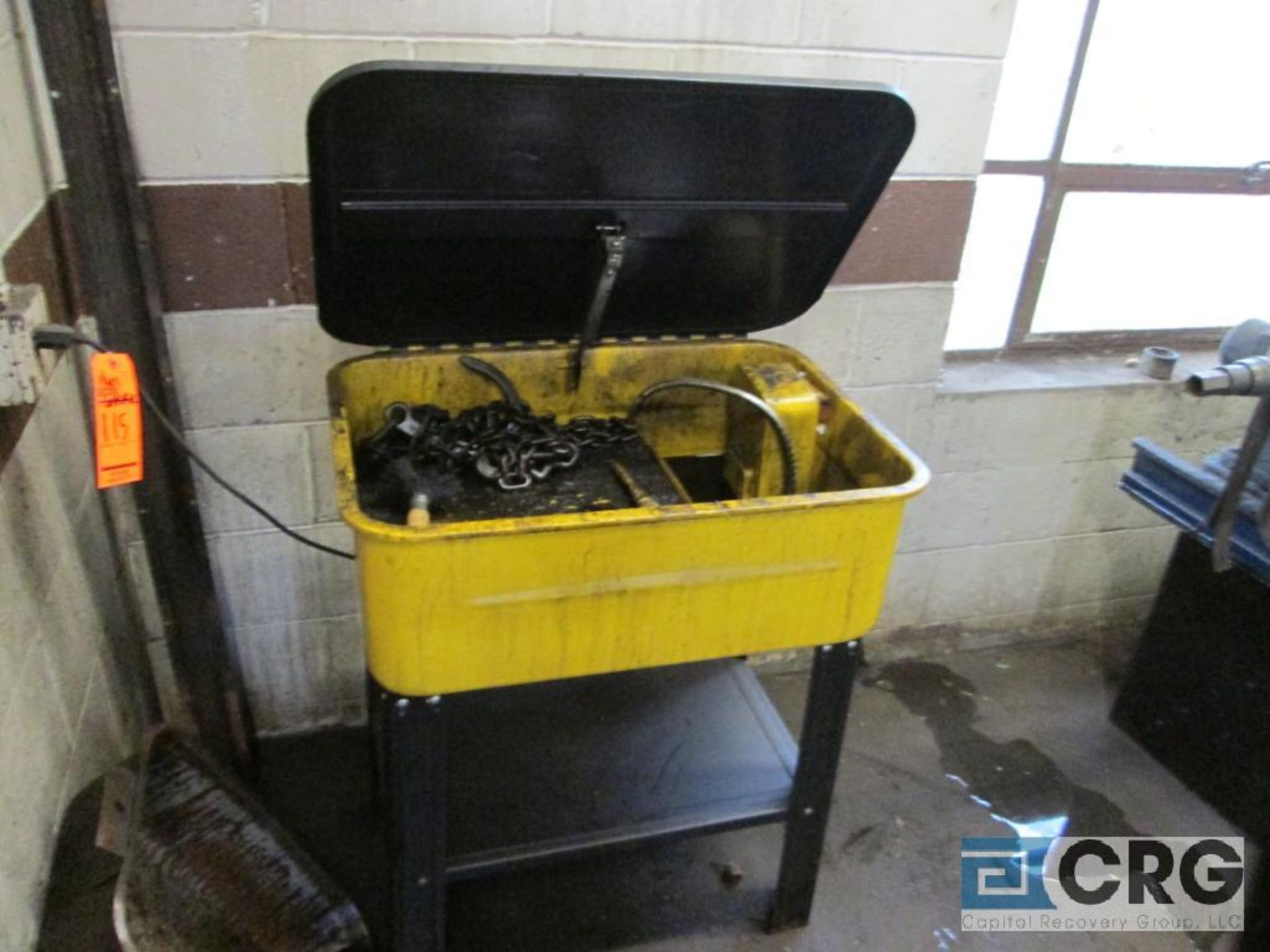 Electric parts washer, 20 gal. - Image 2 of 2