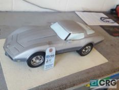 Hard top Corvette, Jim Beam decanter, full with original seal