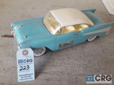1957 Chevy Hard Top, Jim Beam decanter, full with original seral