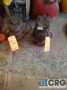 Lot of (2) hydraulic,pneumatic,jacks