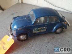 VolkswagonBeetle, Jim Beam decanter, full with original seal