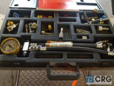 (1) SNAP-ON fuel injection pressure tester