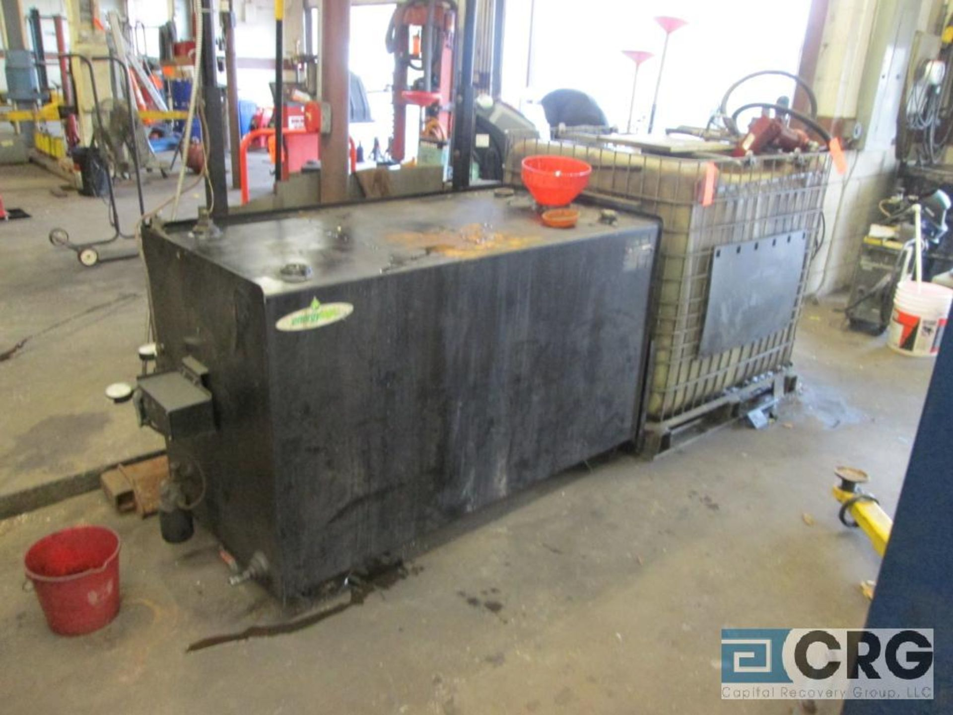Energy Logic EL-200H waste oil furnace with Energylogic 250 gal. supply tank, s/n FT-007294, and 300 - Image 4 of 7