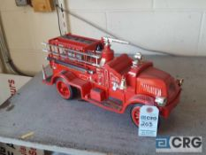 Antique Fire Truck No 2, Jim Beam decanter, full with original seal