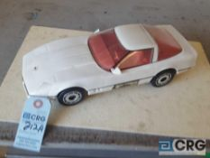 Corvette Hard Top, Jim Beam decanter, full with orginal seal