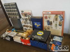 Lot of assorted automotive accessories etc. ; including Napa fuel line hose, vacuum tubing,
