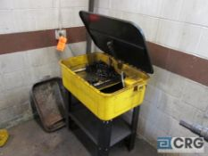 Electric parts washer, 20 gal.
