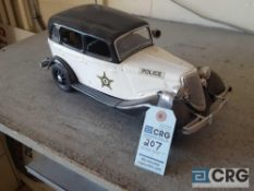 Antique Police Car, Jim Beam decanter, full with original seal