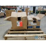 Lot of (2) gearboxes, (1) Weg 5 hp, and (1) Baldor3 hp