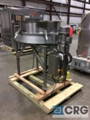 "2011 Russell Finex 17900 portable compact sieve, 39"" diameter, s/n JT1150, (SKIDDED AND READY TO"