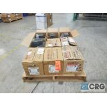 Lot of (9) Baldorgearboxes from 1.23 hp to 2.59 hp