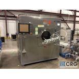 2000 Thomas Accela-Cota 60VXL coating machine, sn 978,3-phase, with portable spray cart sn 596,